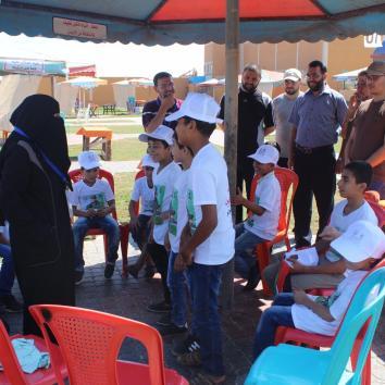 مخيمات الشهيد المحرر مازن فقها