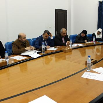 صور مشاركة مكتب إعلام الأسرى في ورشة عمل نظمها المجلس التشريعي الفلسطيني